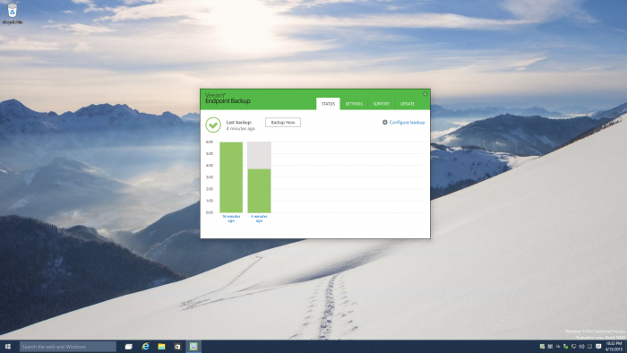 Windows-10-Build-10041-running-Veeam-Endpoint-Backup-FREE