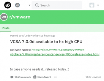 vcsa_700d_available_to_fix_high_cpu