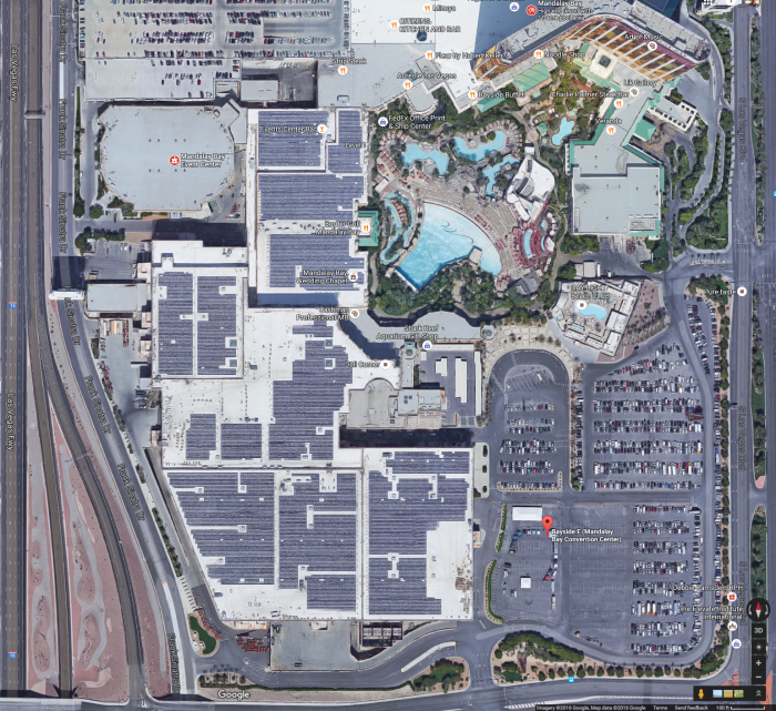 Google-Earth-view-of-Mandalay-Bay-Convention-Center-Rooftop