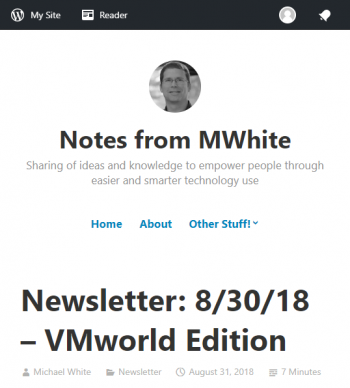 newsletter-8-30-18-vmworld-edition