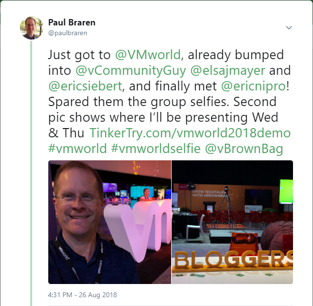 paulbraren-and-vmworld-tweets--TinkerTry