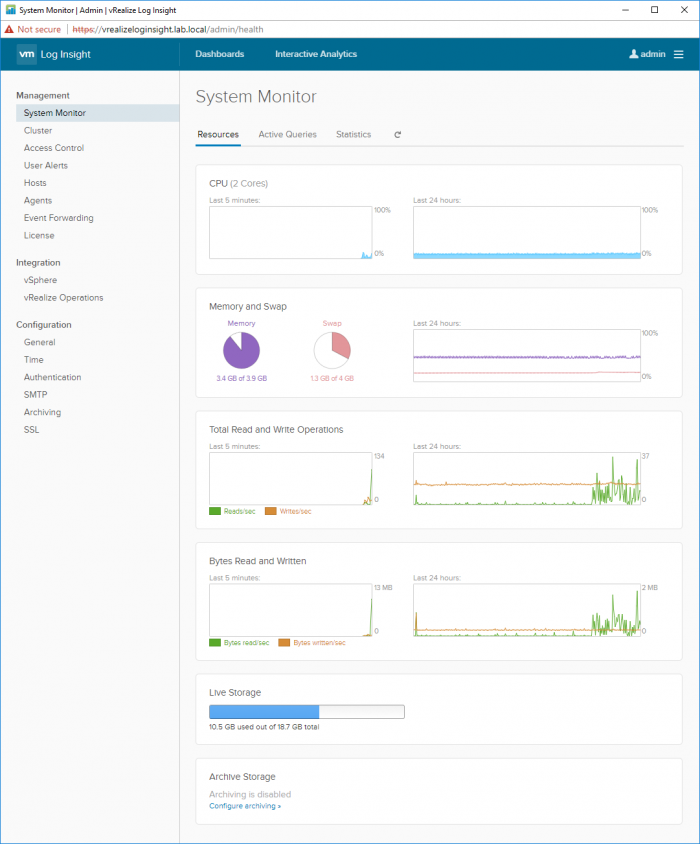 vRealize-Log-Insight-System-Monitor