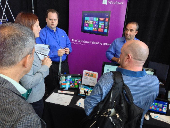 Microsoft-booth