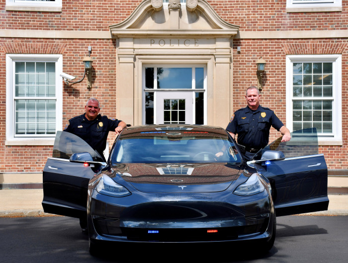 Westport-CT-Police-with-their-Model-3-Performance-in-2021