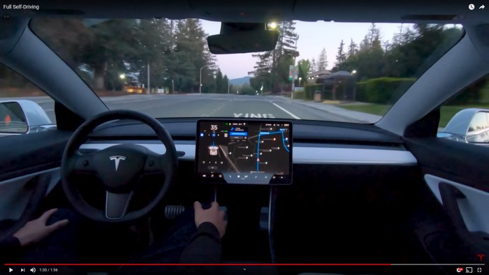 Tesla-Model-3-Full-Self-Driving-driver-passes-VMware-and-SAP-campuses-on-YouTube-tlThdr3O5Qo-2019-04-22--TinkerTry