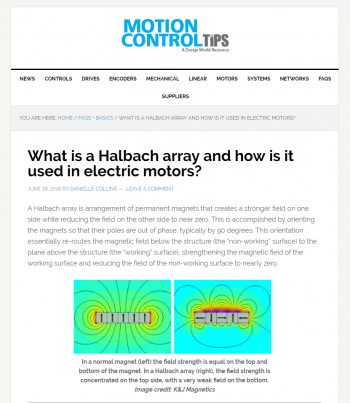 what-is-halbach-array-and-how-is-it-used-in-electric-motors