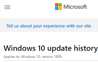 windows-10-update-history