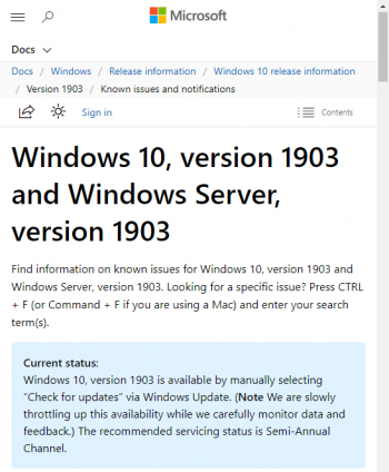 status-windows-10-1903