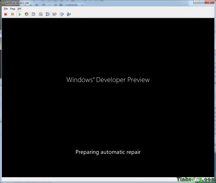 Windows8FailonESXi5